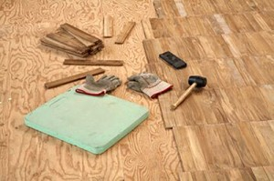 Wood Subfloor